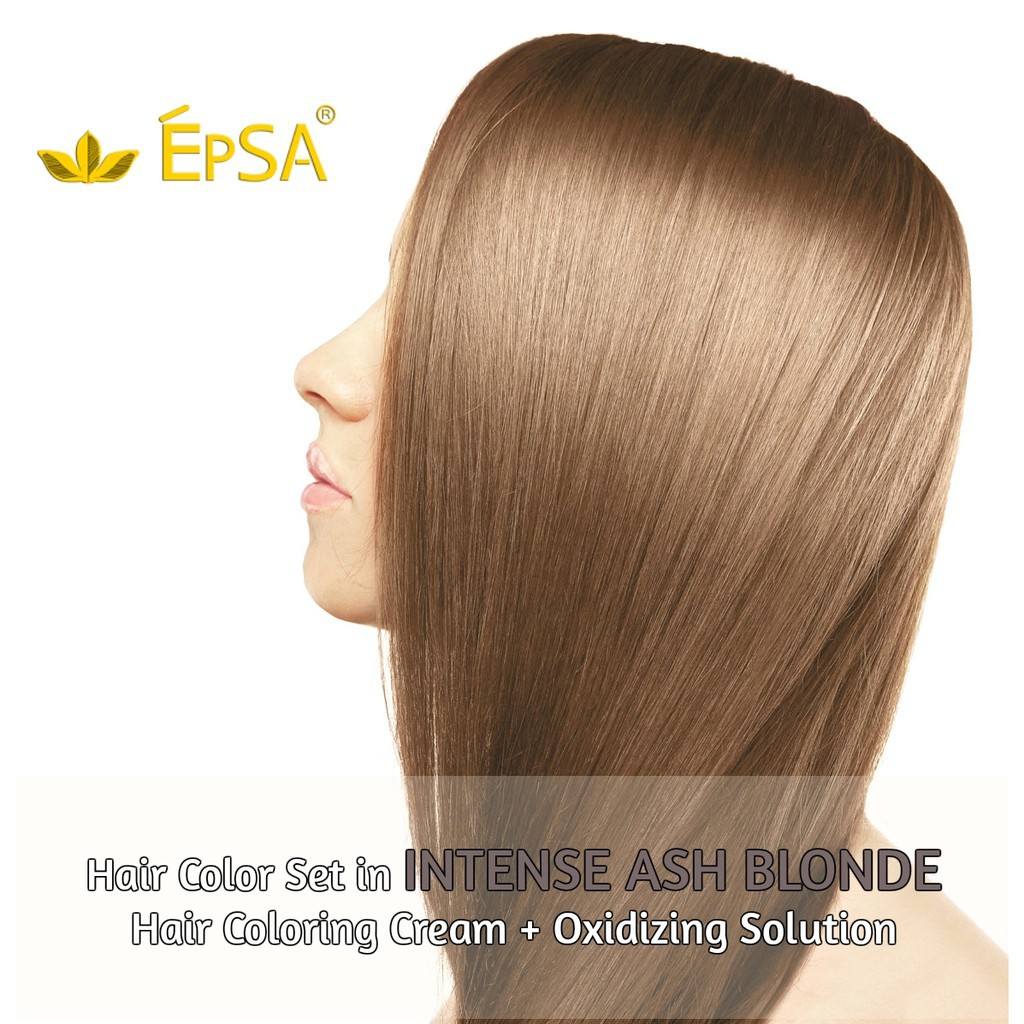 Hortaleza Ammonia Free Hair Coloring Cream Light Ash Blonde