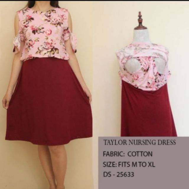 15bd372a9d5f4 Taylor Nursing/ Maternity dress | Shopee Philippines