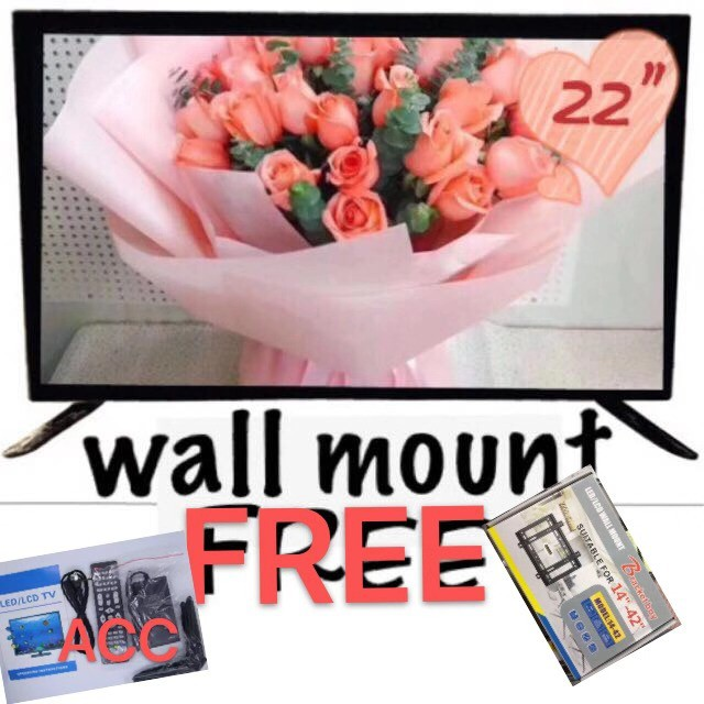 LED TV COBY 22inch Free/Wall Mount