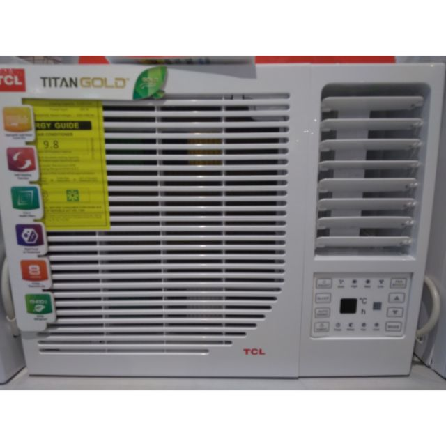 🌄Tcl remote control timer window type aircon 1hp and 1 5hp