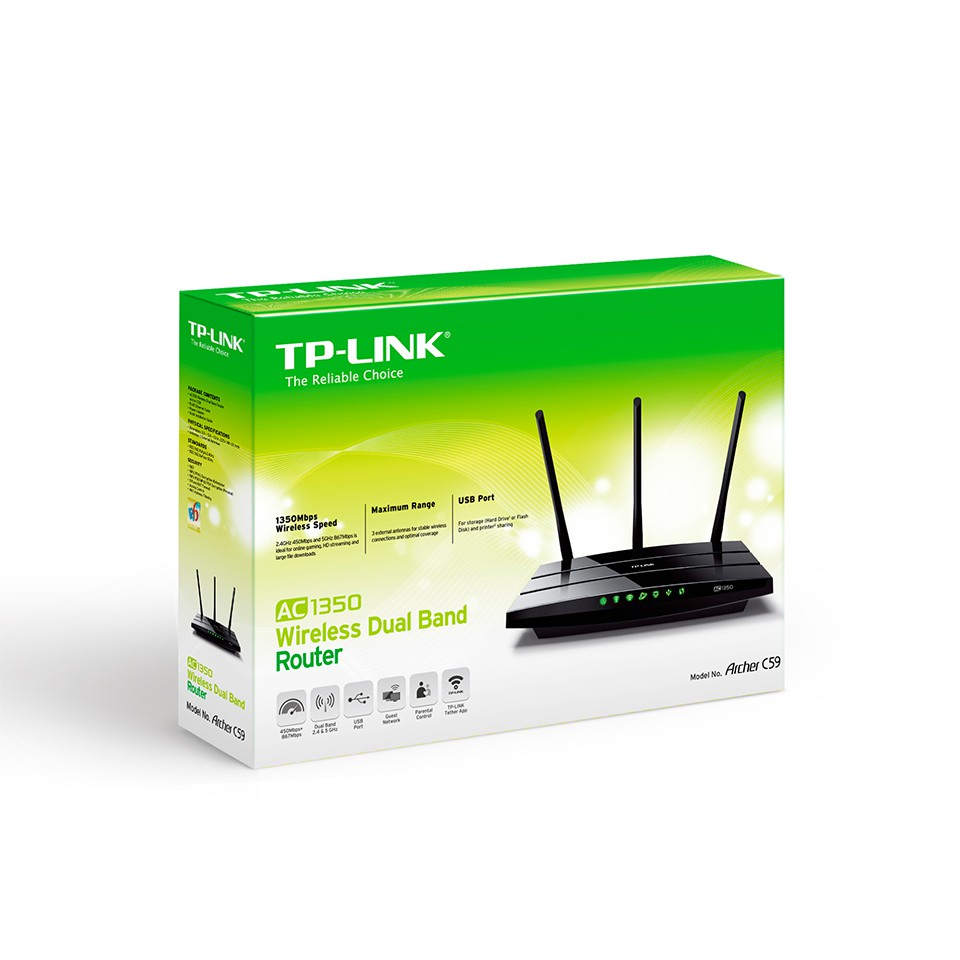 TP-Link Archer C59 AC1350 Wireless Dual Band Router