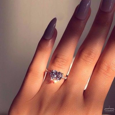 Jenny Jewelry R028 8 Silver Plated New Design Lady Ring Ava