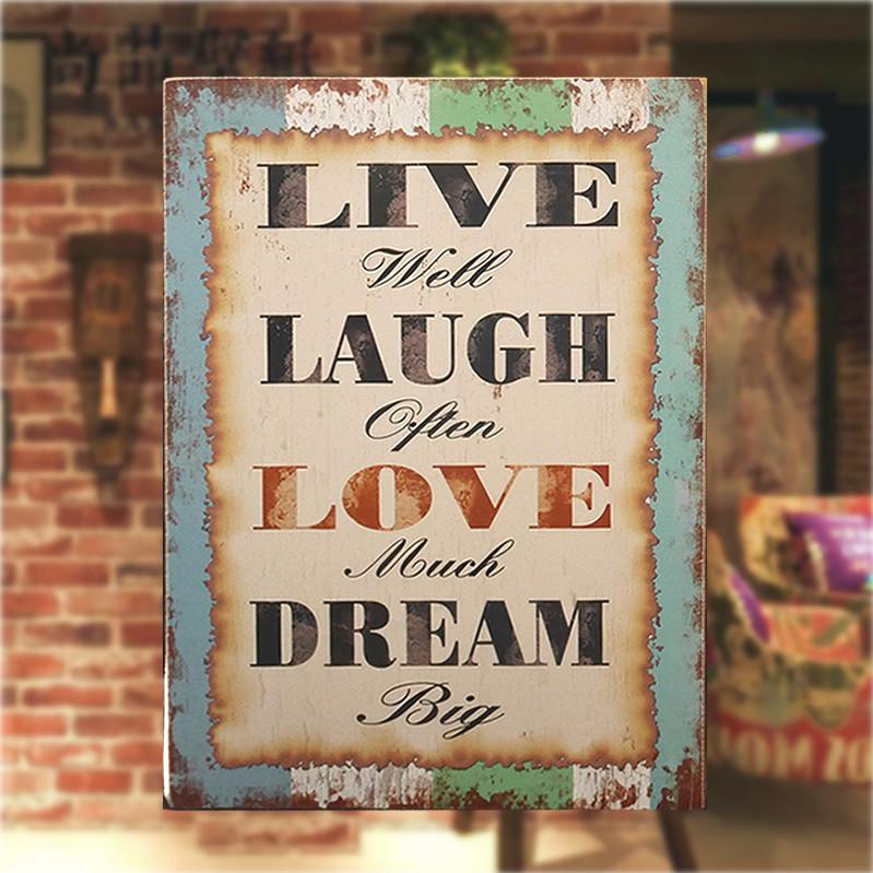 Trendy Fashion Live Laugh Love Dream