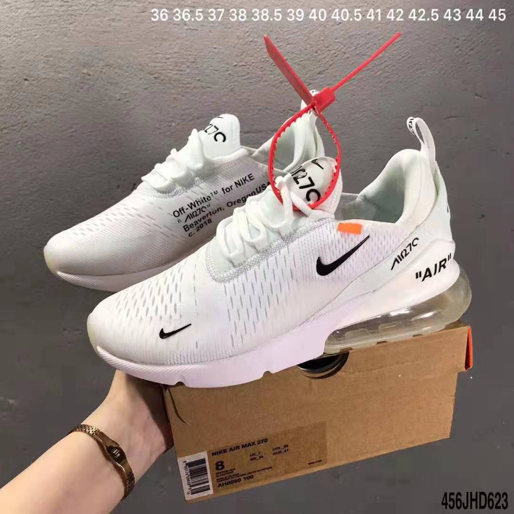 Abuso Australia admiración  FFF NIKE AIR MAX 270 FLYKNIT FOR MEN RUNNING SHOES   Shopee Philippines