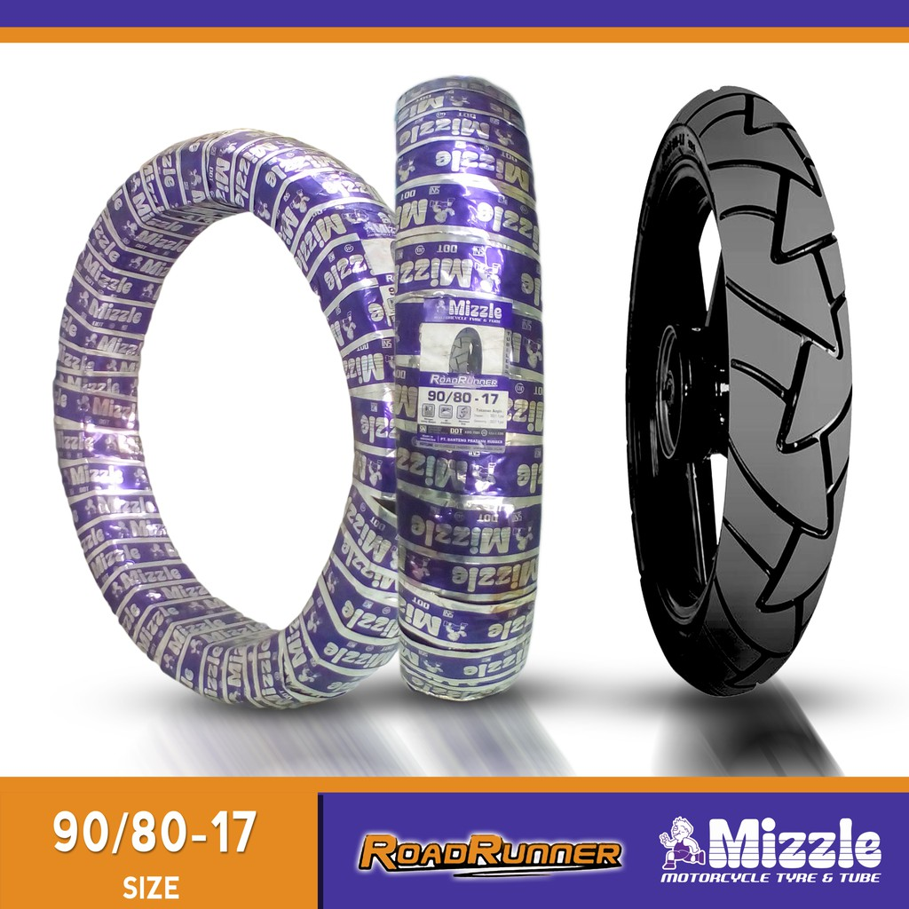 Motorcycle Tire Sizes >> Mizzle Roadrunner Tire Tubeless