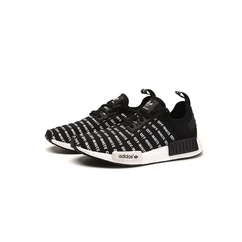 Adidas NMD x Fear of God black and white men's shoes