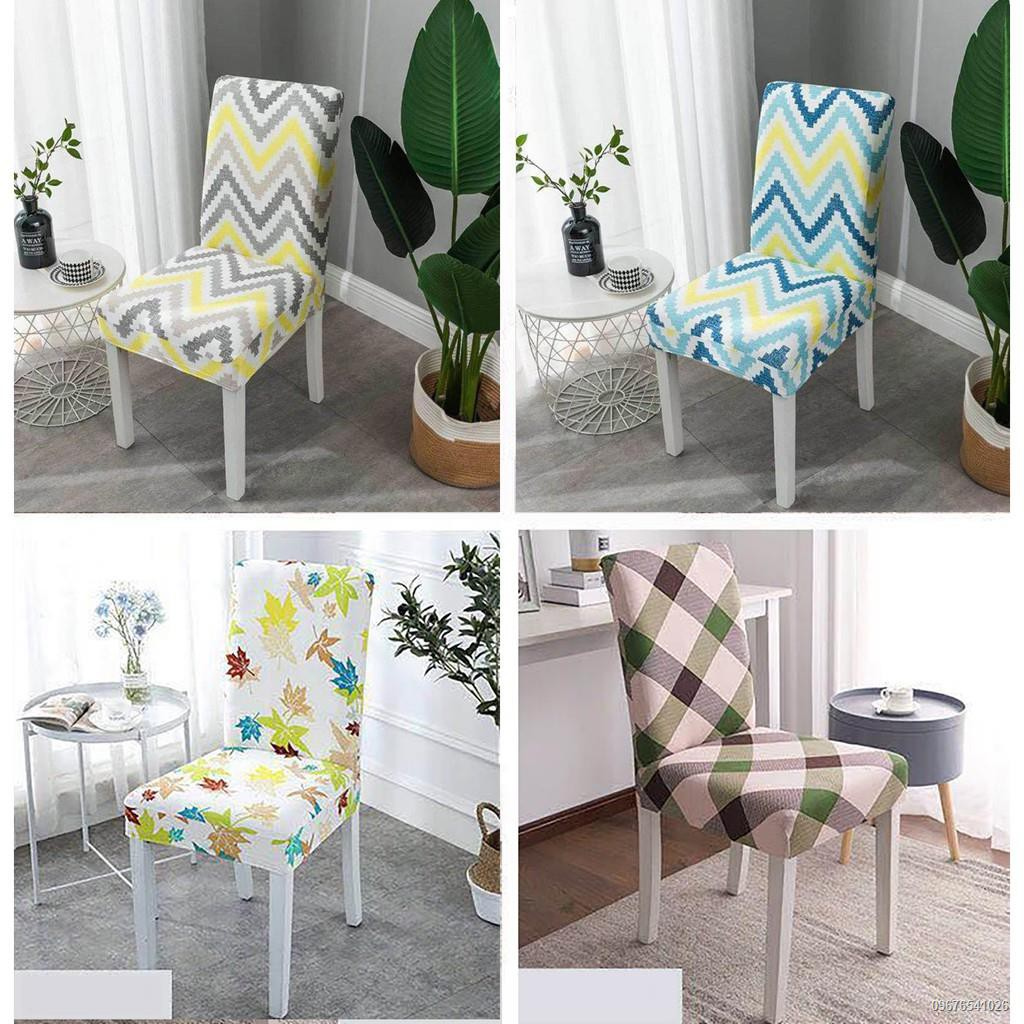 Ready Stock High Quality Dining Room Seat Covers Chair Slipcovers Stretch Uk Ikea Shopee Philippines