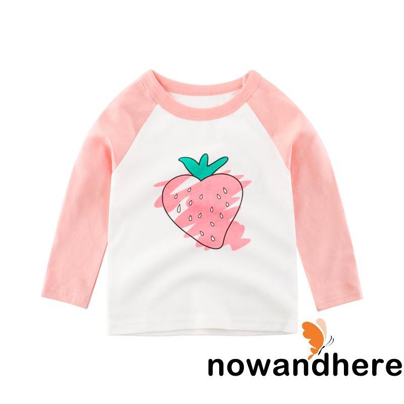 Size Medium Strawberry Print Pink Shirt