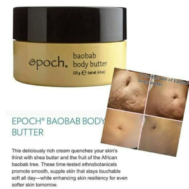 Baobab Body Butter.Epoch Baobab Body Butter