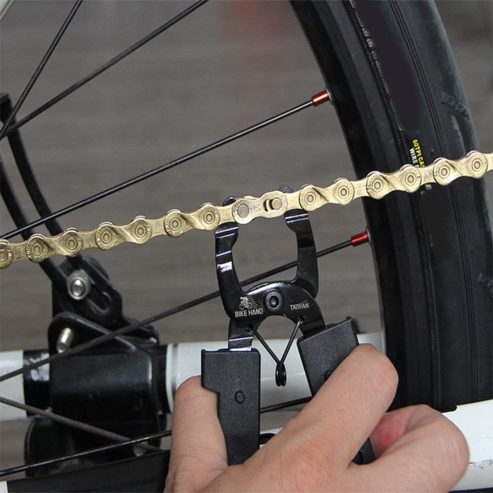 Bikehand Bicycle Bike Chain Brush Tool Kit with Handle