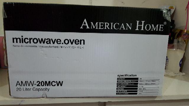 American Home Microwave Sho