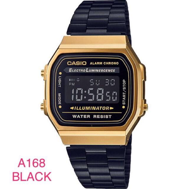 1f102cb1db98 Casio F91WM-9A Gold Black Digital Watch F91