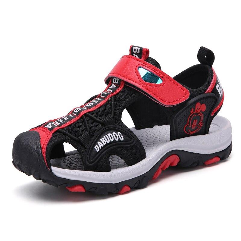 d90bd40d3d5a9 BABUDOG 2019 Non-slip Soft Summer Sandals New Large Children's Shoes ...