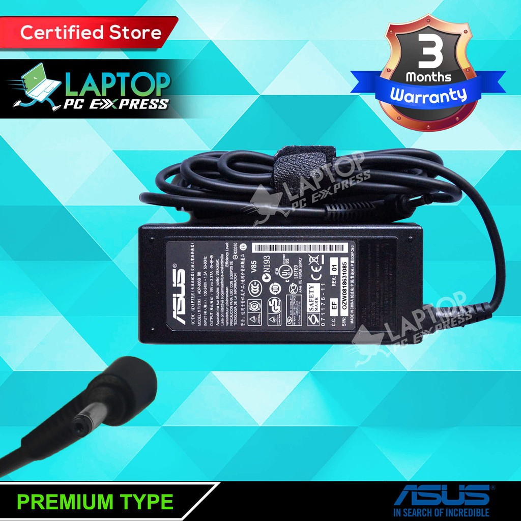 asus x series laptop charger