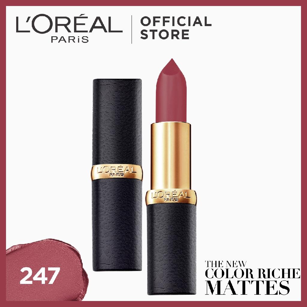 LOreal Paris Color Riche Moist Matte Lipstick, 248