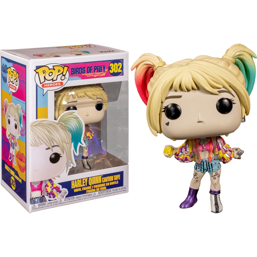 Funko Pop Birds Of Prey Harley Quinn Boobytrap Battle Hot Topic Excl W Protector Brfvastraakanten Se
