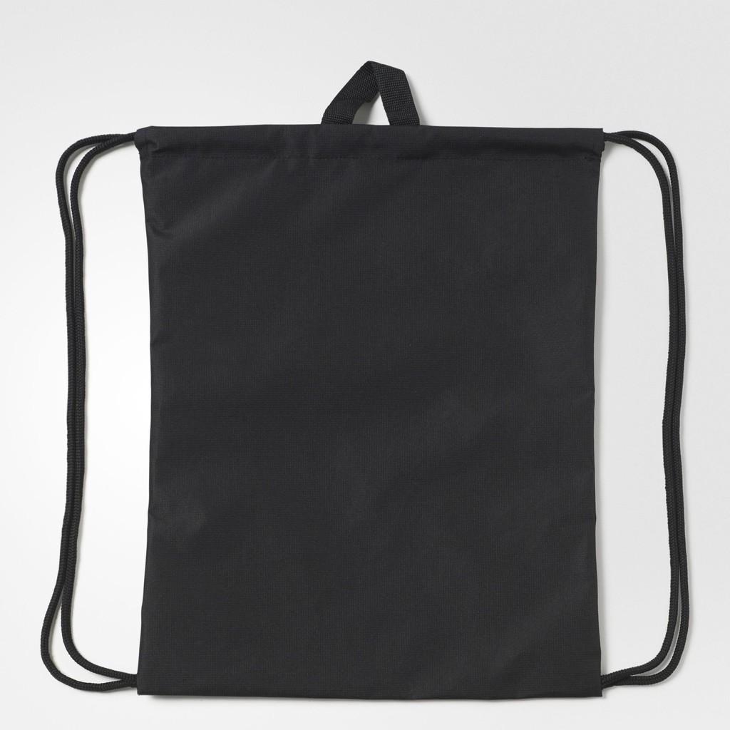 adidas Unisex Run Black Gym Sack Bag