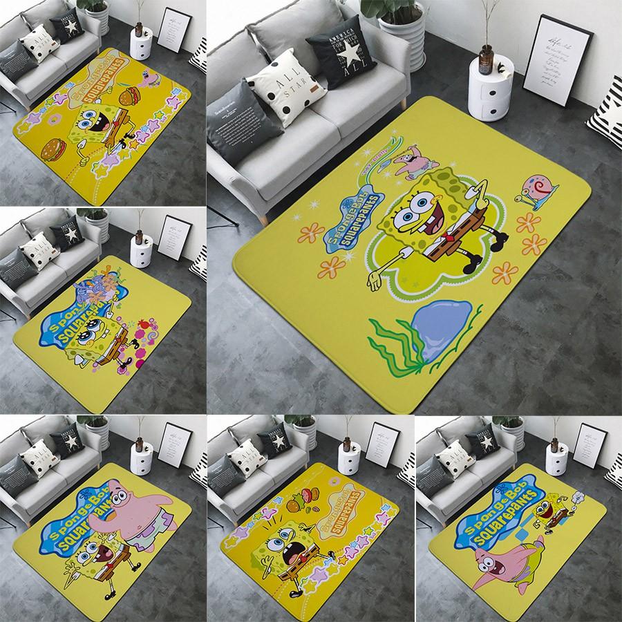 Spongebob Pattern Carpet Spongebob Bedroom Living Room Carpet Shopee Philippines