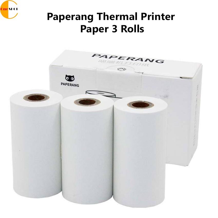 Paperang Thermal Printer Paper 3 Rolls P1-PT/P1-PTZ (WHITE)