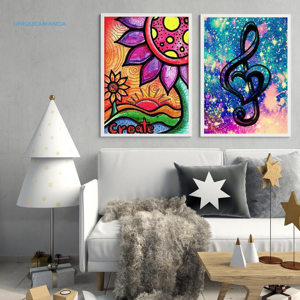 5D DIY Diamond Painting Full Drill Cross Stitch Craft Kits Bedroom Mosaic Decor