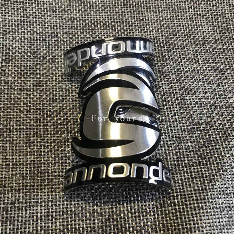Small Cannondale Alloy Headtube Head Badge Decal