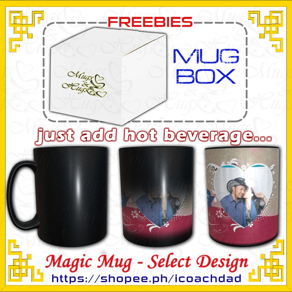 Magic Mug Can Be Personalized Customized Mugs For Any Occasion Shopee Philippines