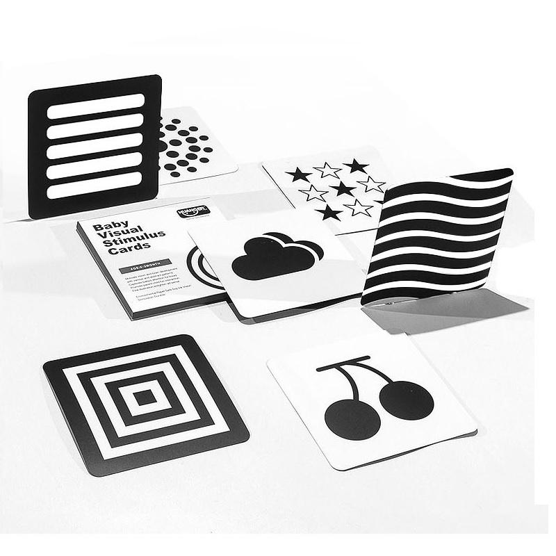 Architectural Design Principles BabyShower Gift Black /& White Cards 100 High Contrast Sensory Cards Montessori Method