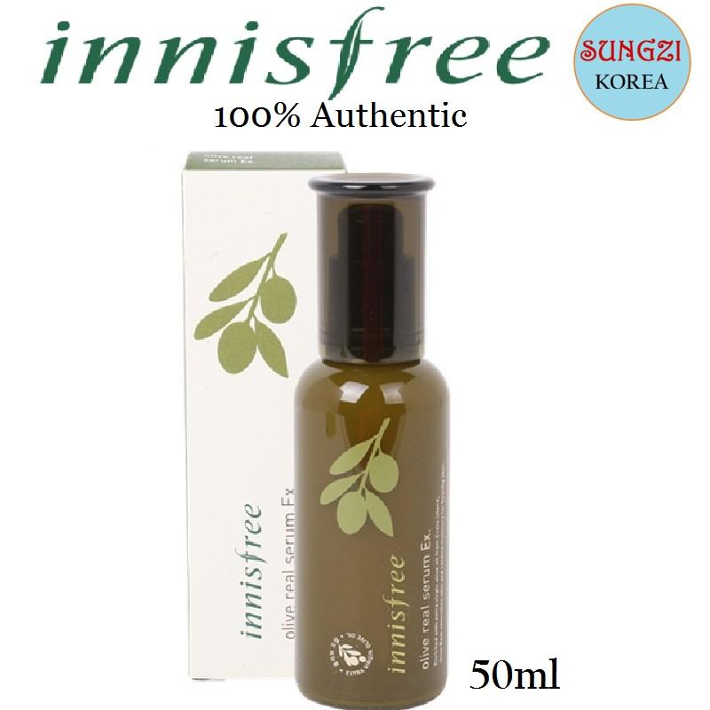 INNISFREE Olive Real Serum EX (50ml) Korean Cosmetics