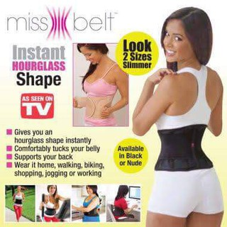 840ddc0cd6 🔴COD INSTANT HOURGLASS shape Miss Belt corset waist trainer ...