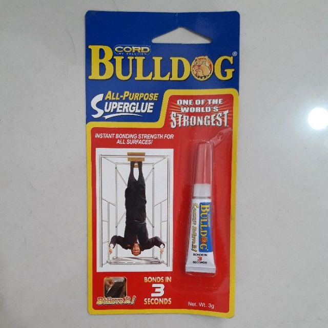 Bulldog all purpose super glue