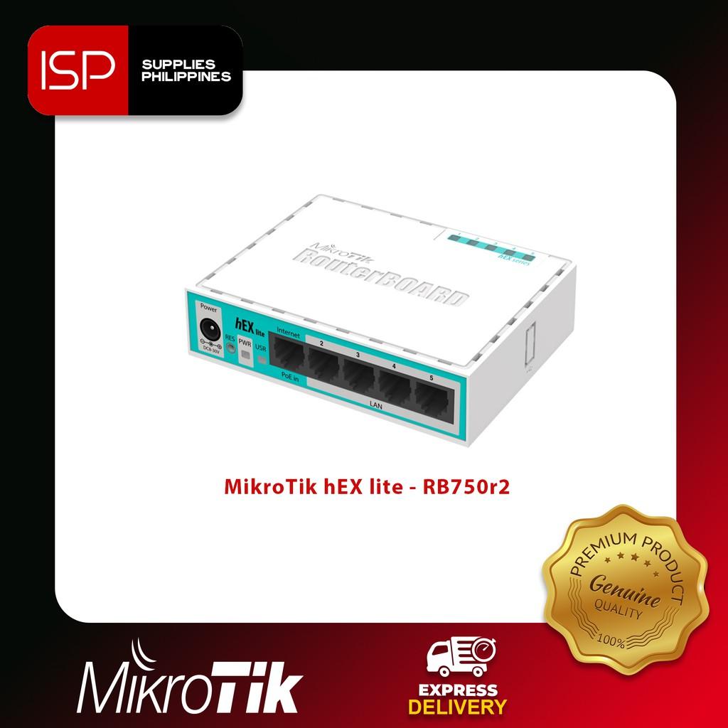 MikroTik hEX lite - RB750r2