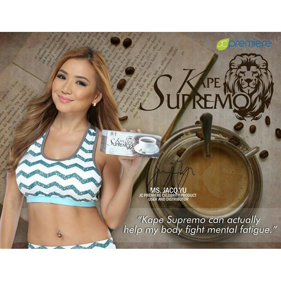 Kape Supremo 8 in 1 Coffee 20 Sachet | Shopee Philippines