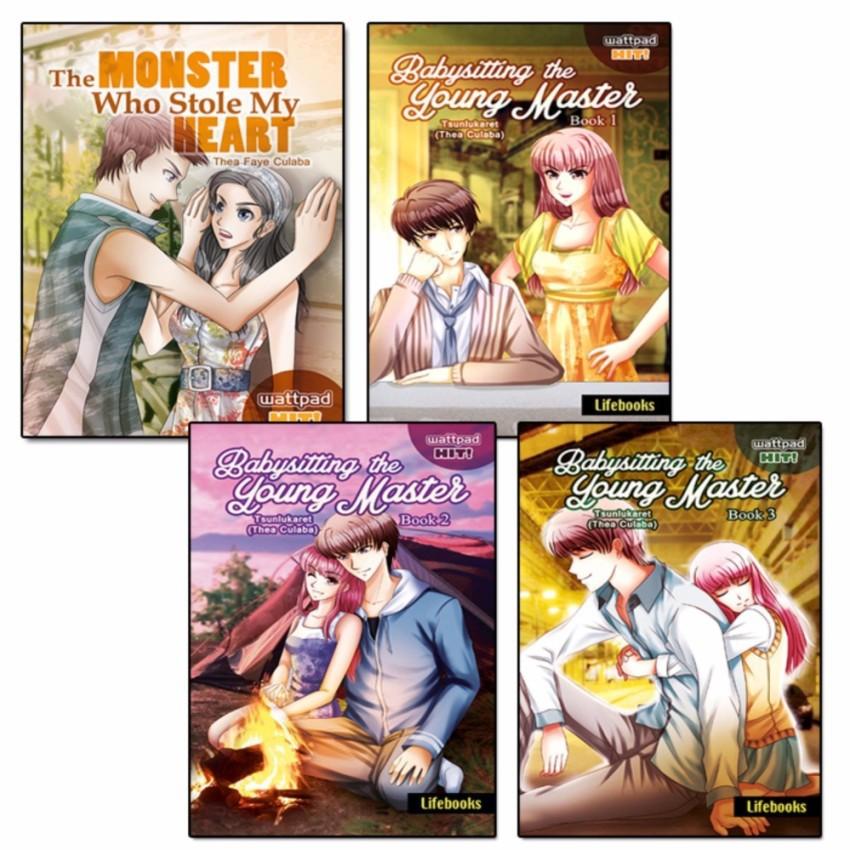 Tsunlukaret Collection of 4 Wattpad Books