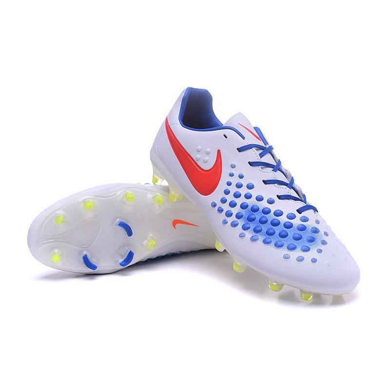 ae16ea924c Nike Magista Opus Ii Fg White-red-blue men soccer shoes
