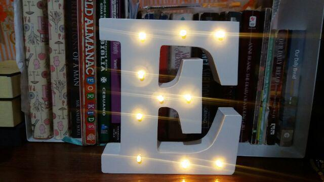 Letter LED Light Decor Marquee Standee 190EACH