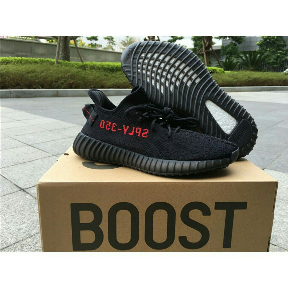 8f38a0c72e6  ready stock Adidas Yeezy Boost 350 V2 Core Black Red