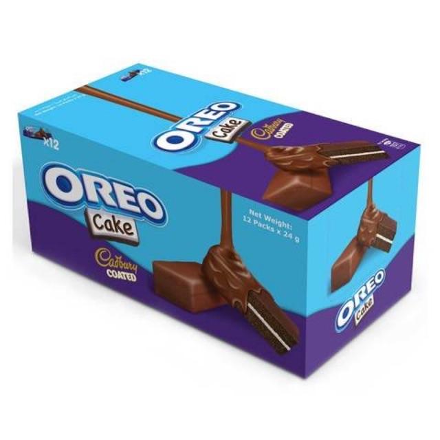 Oreo Cake Cadbury Coated 12x 24g   Shopee Philippines
