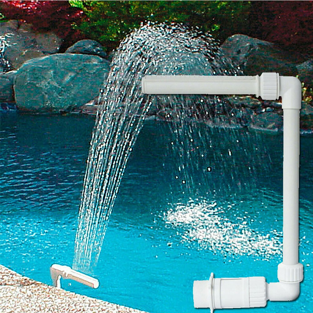 Shin Pool Fountain Adjustable Durable Swimming Waterfall Fountain Water Pools Decoration Shopee Philippines