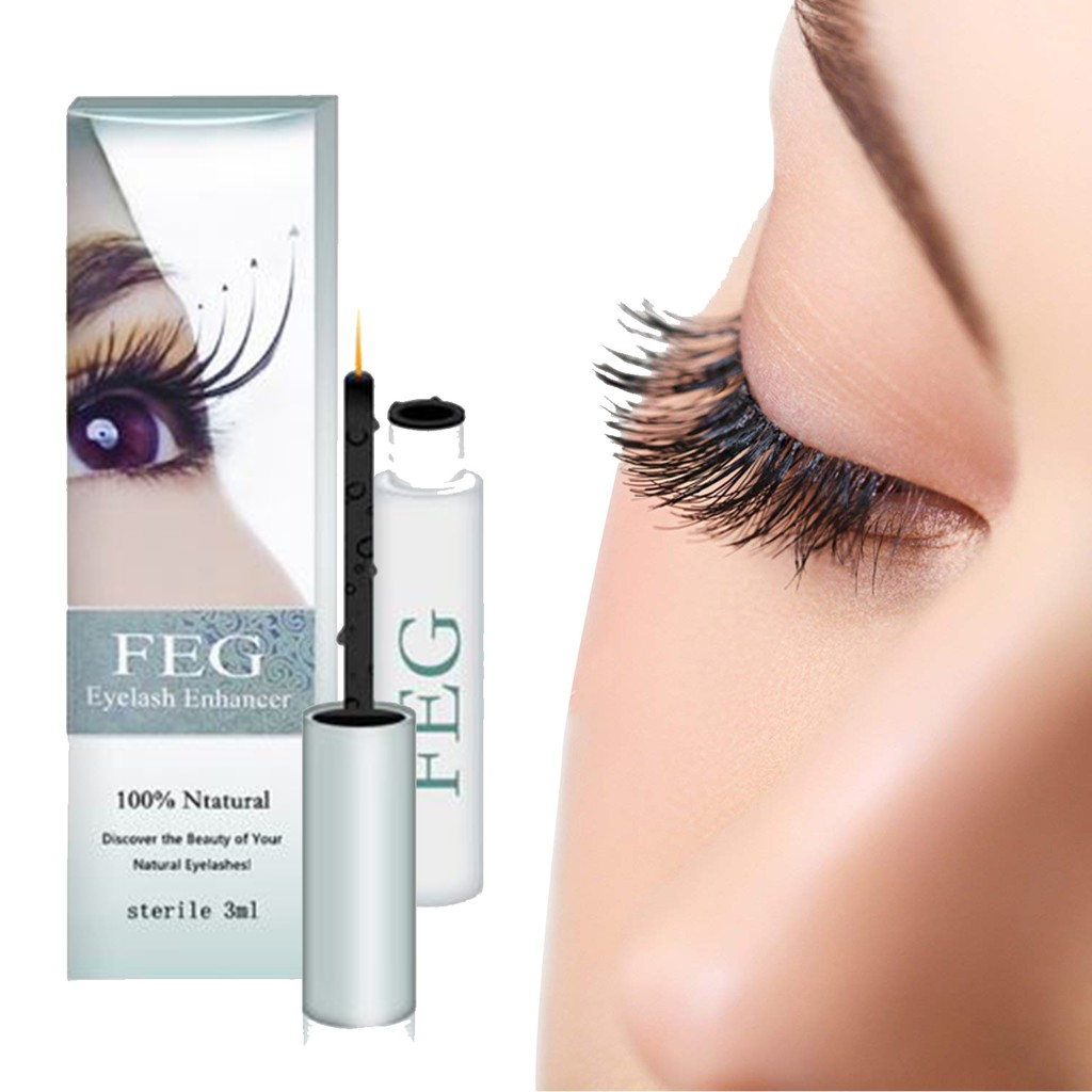 95095dd274c FEG Eyelash Growth Serum Nourishing Eyelash Enhancer Longer | Shopee  Philippines