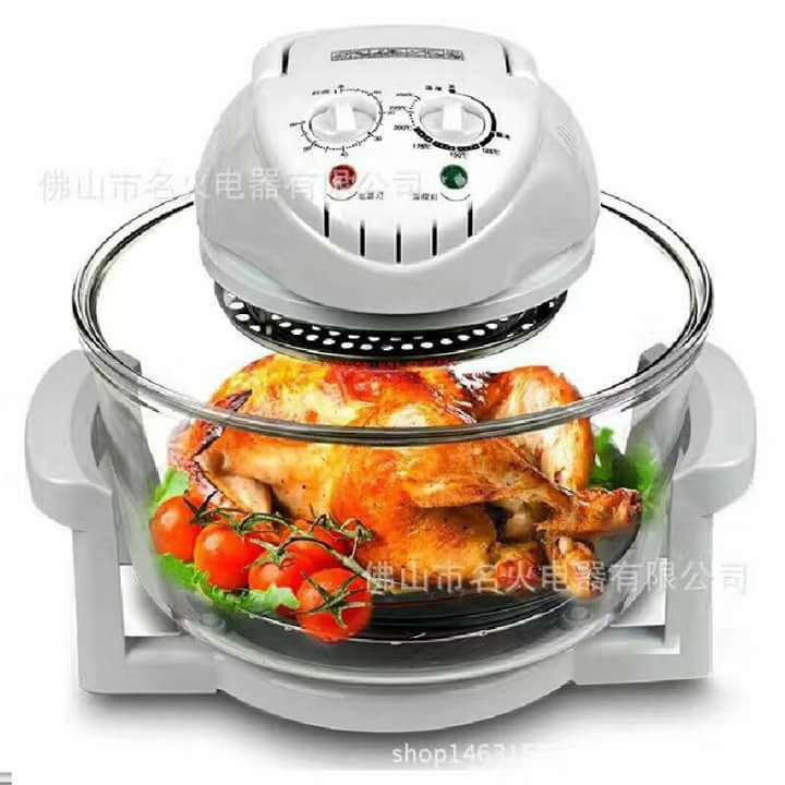 Tempered Glass Bowl Turbo Broiler