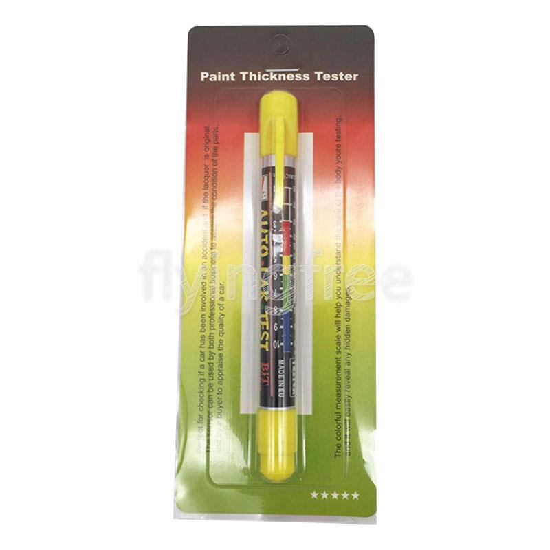 2Pcs Car Paint Thickness Tester Meter Gauge Crash Check Test Lacquer Tester Set