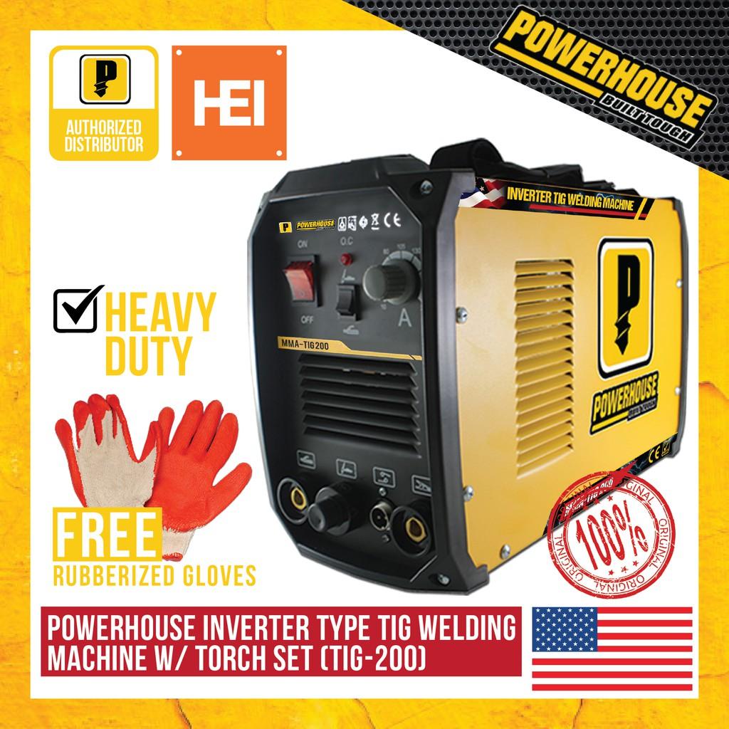 Powerhouse Inverter Type Tig Welding Machine 200a Shopee Philippines