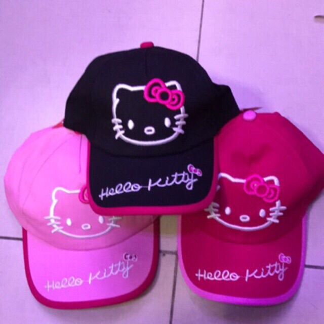 Hello kitty cap (for kids or adult)  9233514a46a