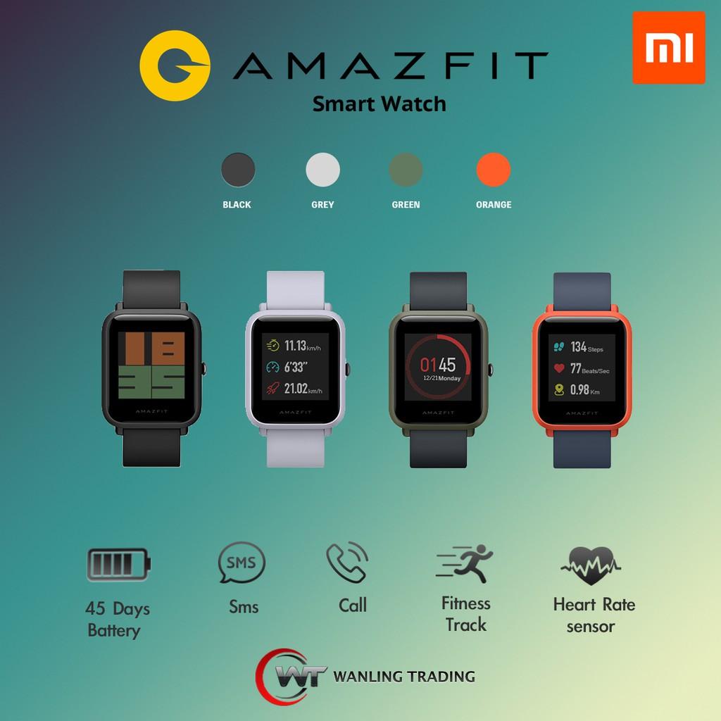 Huami Amazfit Bip Smartwatch (ENGLISH VERSION)