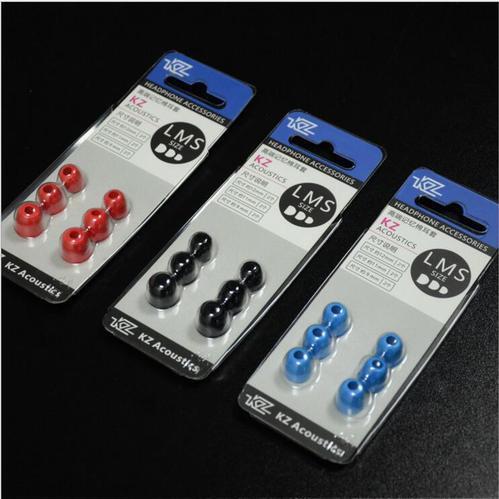 KZ Earmuffs Memory Foam Silk Gel Ear Cap (3Pair/set)