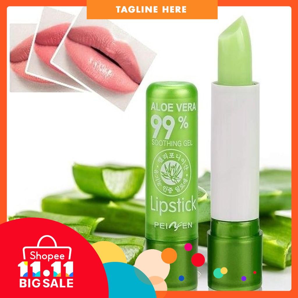 fashionme Aloe Vera Lipstick Color Mood Changing Long