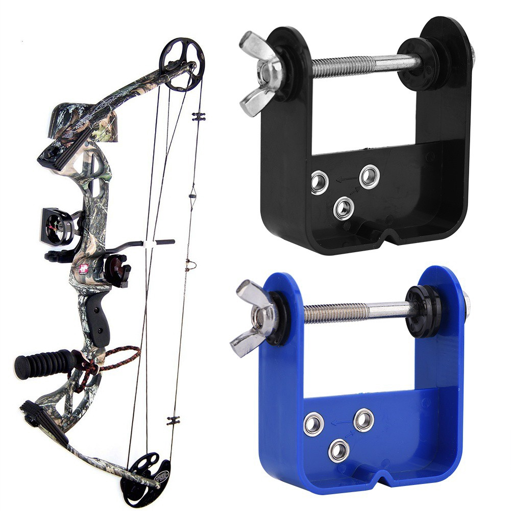 1 Blue Bow String Server Archery Tool for Compound Bow 1 Black