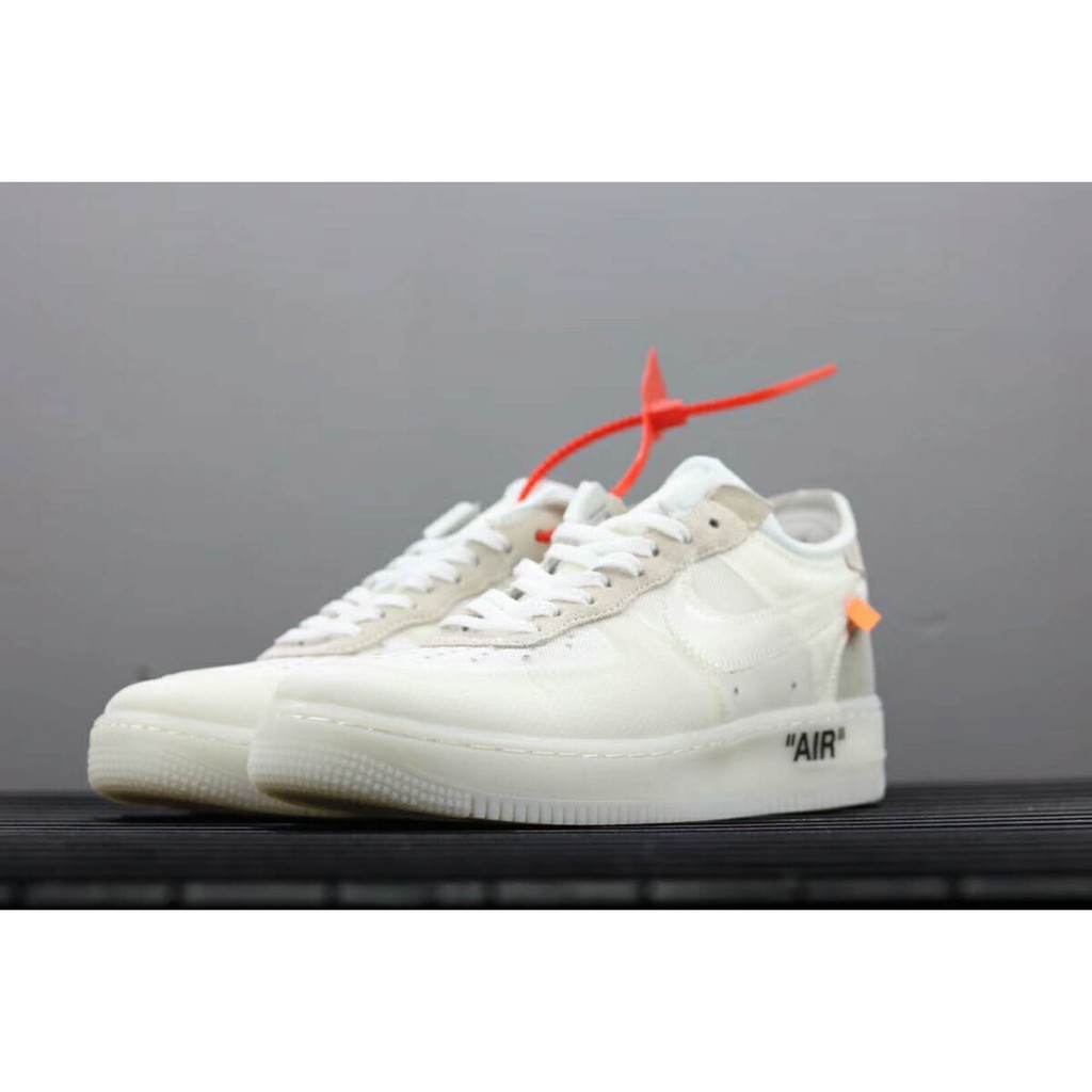 Off White x Nike Air Force 1 Low White AO4606 100