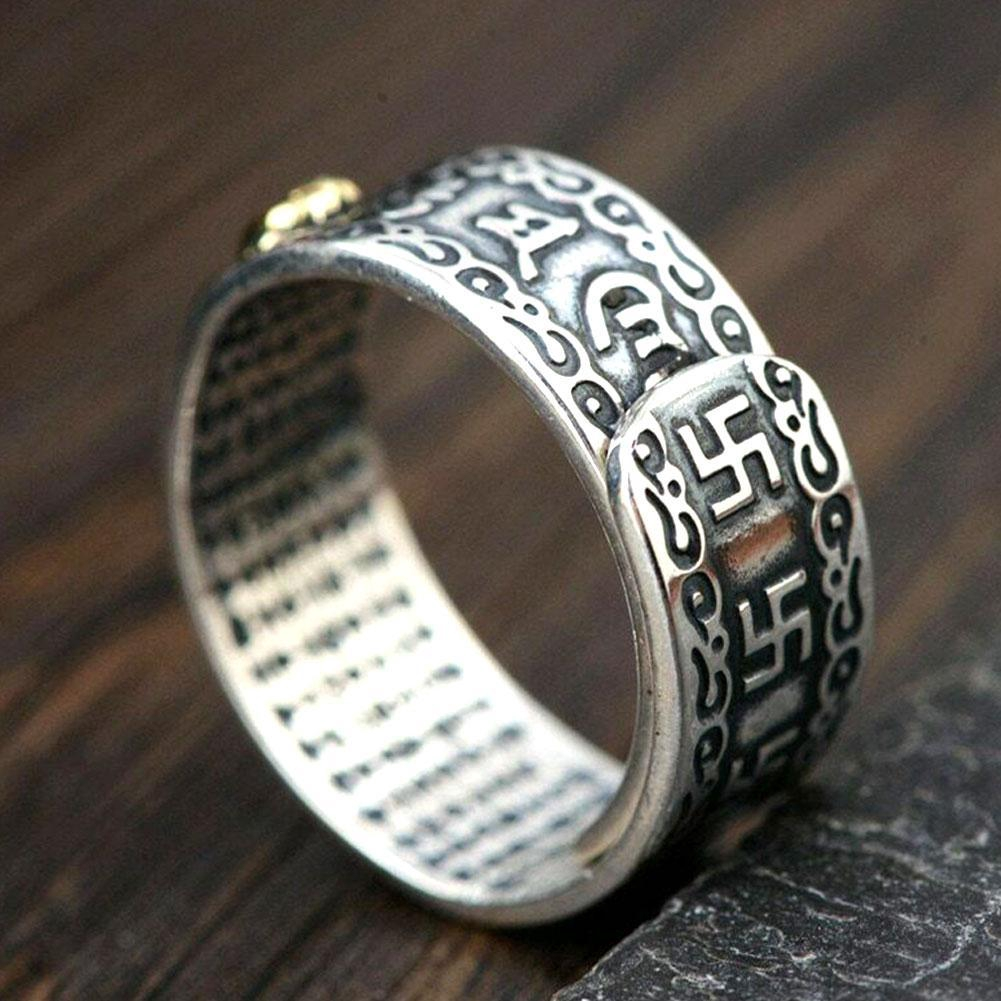 Feng Shui Pixiu Mani Mantra Protection Wealth Ring T2H0 | Shopee Philippines