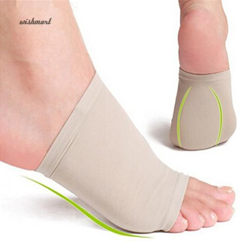 ☀WISH Arch Support Forefoot Cushion Plantar Fasciitis Pain Relief Foot Sleeve Sock